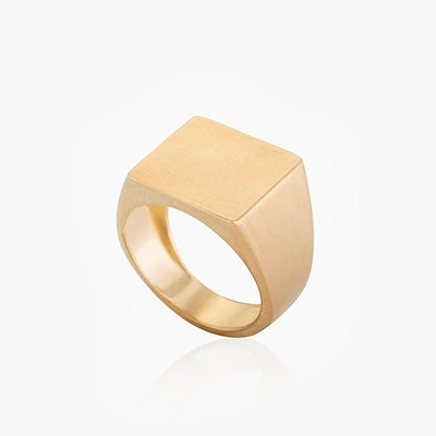 COLOR & FORM SQUARE FLAT RING