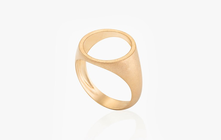 COLOR & FORM FREE ME ROUND RING