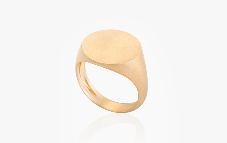 COLOR & FORM ROUND FLAT RING