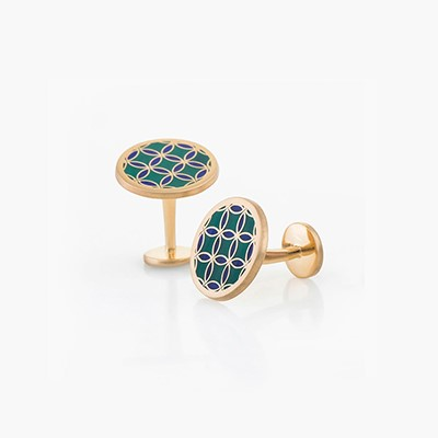 BLAT BEIRUT CIRCLE CUFFLINKS
