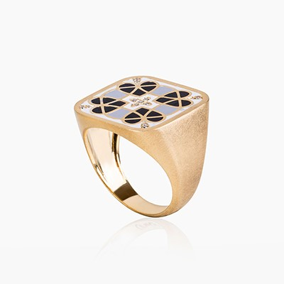 BLAT BEIRUT HEART RING