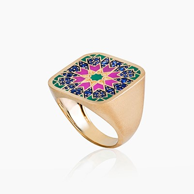 BLAT BEIRUT STAR RING