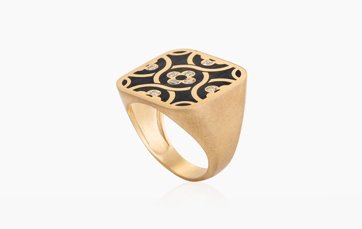 BLAT BEIRUT FLOWER RING