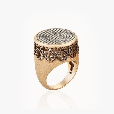 IDENTITY WEST DIAMOND RING
