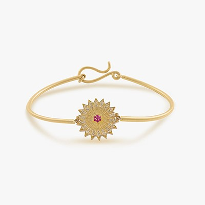 POWER OF LIGHT VENUS SMALL DIAMOND BANGLE