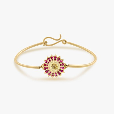 POWER OF LIGHT VENUS SMALL BANGLE
