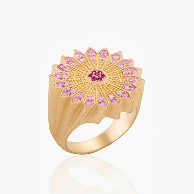 POWER OF LIGHT LOTUS FULL RING
