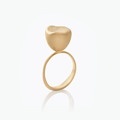 BABY MALAK FLOURISH PURE SMALL ROUND RING