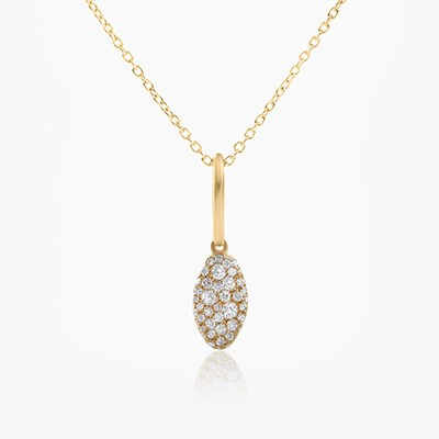BABY MALAK ORIGINAL DROP MARQUISE NECKLACE