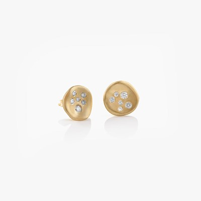 BABY MALAK MINI ROUND EARRINGS