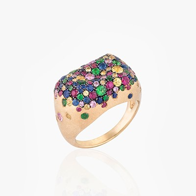 BABY MALAK ORIGINAL BONBON RECTANGLE RING