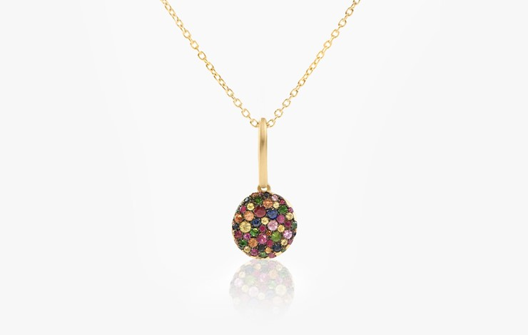 BABY MALAK ORIGINAL DROP BONBON ROUND NECKLACE
