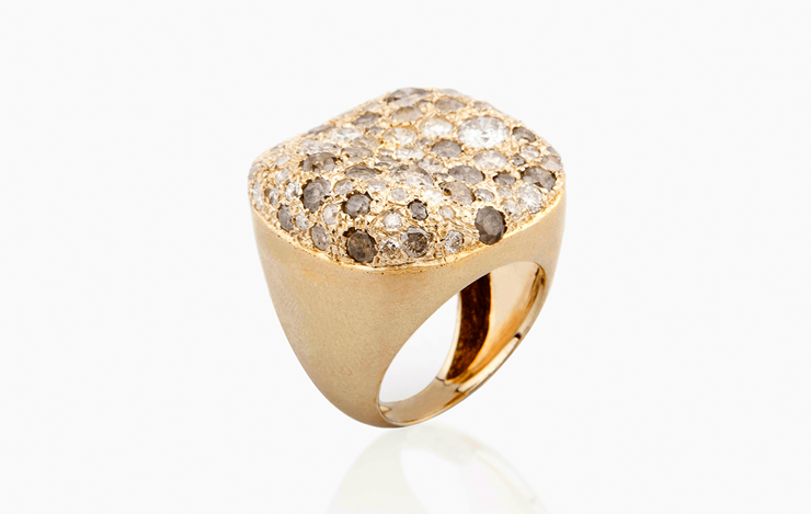 MALAK ICY SQUARE RING