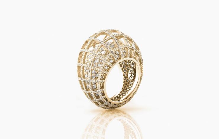 MATRIX DOUBLE DIAMOND RING