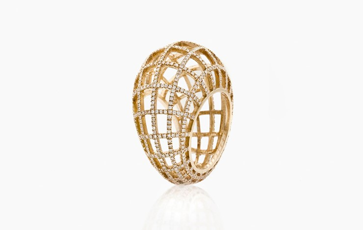 MATRIX SINGLE DIAMOND RING