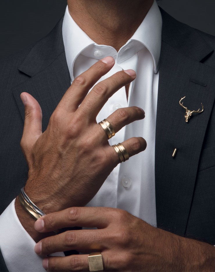 Nada G™ launches 5  versatile collections in 18 karat gold inspired by the closest men in Nada's life.